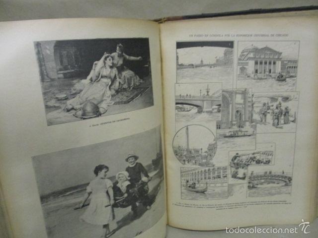 Libros antiguos: Libro volumen revista - La Ilustración Ibérica 1893 - Tomo Undecimo - Editor + Ramon Molinas - Foto 13 - 55804982