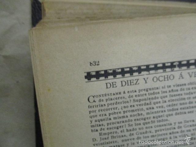 Libros antiguos: Libro volumen revista - La Ilustración Ibérica 1893 - Tomo Undecimo - Editor + Ramon Molinas - Foto 15 - 55804982