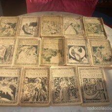 Libros antiguos: OBRAS COMPLETAS DE AMADO NERVO, BIBLIOTECA NUEVA. 14 EJEMPLARES. Lote 55908241