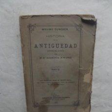 Libros antiguos: HISTORIA DE LA ANTIGUEDAD HISYORIA DE GRECIA TOMO IX. Lote 55928051