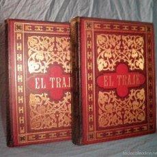 Libros antiguos: HISTORIA DEL TRAJE - AÑO 1917 - F.HOTTENROTH - MONUMENTAL COLECCION DE LAMINAS IN-FOLIO.. Lote 55930555