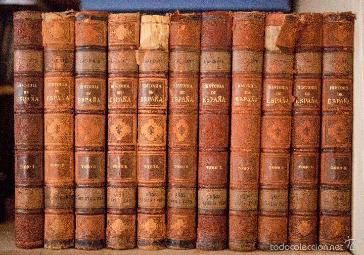 HISTORIA GENERAL DE ESPAÑA. MODESTO LAFUENTE. MONTANER Y SIMÓN EDITORES 1889. (Libros Antiguos, Raros y Curiosos - Historia - Otros)