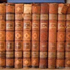 Alte Bücher - HISTORIA GENERAL DE ESPAÑA. MODESTO LAFUENTE. MONTANER Y SIMÓN EDITORES 1889. - 55991643