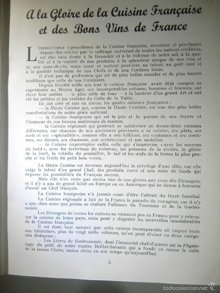 Libros antiguos: Libro - Recetas de cocina, En Francés- Bon Plats, Bons Vins, Curnonsky, 1950, Maurice Ponsot éditeur - Foto 7 - 56024393