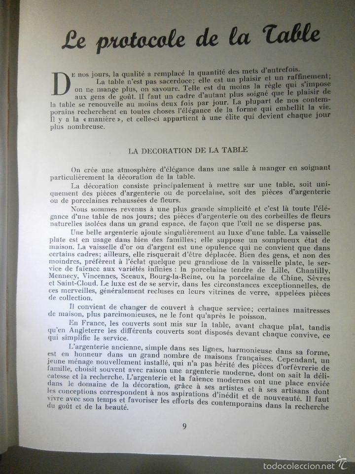 Libros antiguos: Libro - Recetas de cocina, En Francés- Bon Plats, Bons Vins, Curnonsky, 1950, Maurice Ponsot éditeur - Foto 8 - 56024393