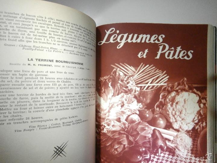 Libros antiguos: Libro - Recetas de cocina, En Francés- Bon Plats, Bons Vins, Curnonsky, 1950, Maurice Ponsot éditeur - Foto 12 - 56024393
