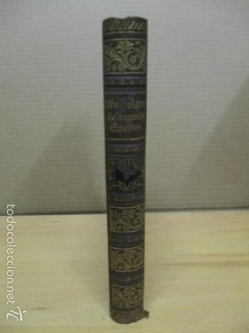 Libros antiguos: Cefammelte Gchriften, Richel de Montaignes 1915 (en aleman) - Foto 2 - 56031687