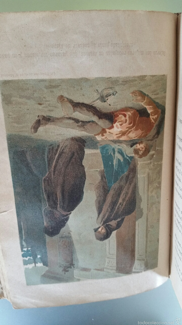 Libros antiguos: DON JUAN TENORIO - TOMO I y II- 1883 - 22CM X 15´5CM - 2 LAMINAS DE DIBUJO A COLOR - Foto 14 - 53885649
