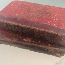 Libros antiguos: EL PAN DE LOS POBRES - ENRIQUE PEREZ ESCRICH - LAMINAS ILUSTRADAS PALACIOS - 2 TOMOS. Lote 56047705