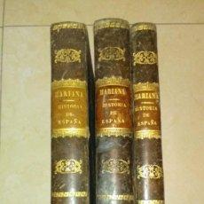 Libros antiguos: HISTORIA DE ESPAÑA - MARIANA. Lote 56051087