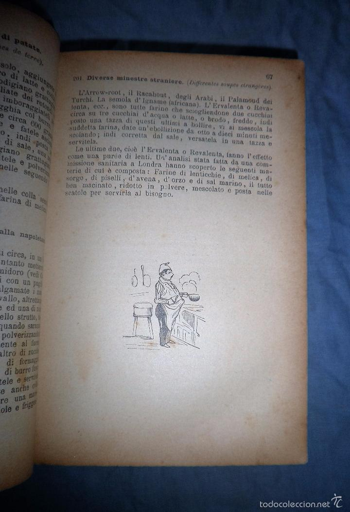 Libros antiguos: LA GASTRONOMIA MODERNA - GIUSEPPE SORBIATTI - AÑO 1888 - EXCEPCIONAL EDICION ORIGINAL. - Foto 7 - 56127475