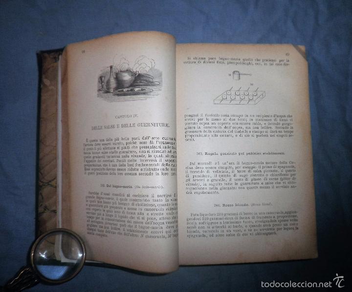 Libros antiguos: LA GASTRONOMIA MODERNA - GIUSEPPE SORBIATTI - AÑO 1888 - EXCEPCIONAL EDICION ORIGINAL. - Foto 8 - 56127475