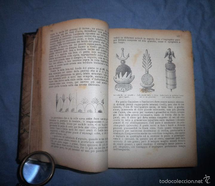 Libros antiguos: LA GASTRONOMIA MODERNA - GIUSEPPE SORBIATTI - AÑO 1888 - EXCEPCIONAL EDICION ORIGINAL. - Foto 9 - 56127475