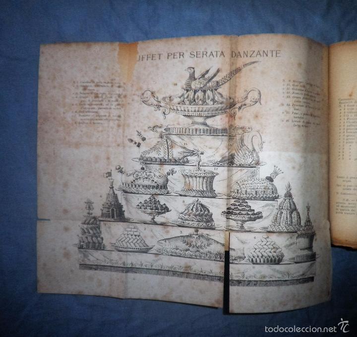 Libros antiguos: LA GASTRONOMIA MODERNA - GIUSEPPE SORBIATTI - AÑO 1888 - EXCEPCIONAL EDICION ORIGINAL. - Foto 11 - 56127475