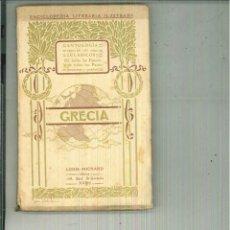 Libros antiguos: LA GRECIA LITERARIA. RAÚL VÈZE. Lote 56163159