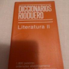 Libros antiguos: DICCIONARIO DE LITERATURA. Lote 56181053