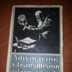 Libros antiguos: LIBRO ANTIGUO, CURSO DE TELEPATÍA. 1922. M. WANAMAKER. Lote 56205031