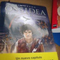 Libros antiguos: OSSIDEA LA GUERRA DE LOS GIGANTES TIM BRUNO. Lote 56216181