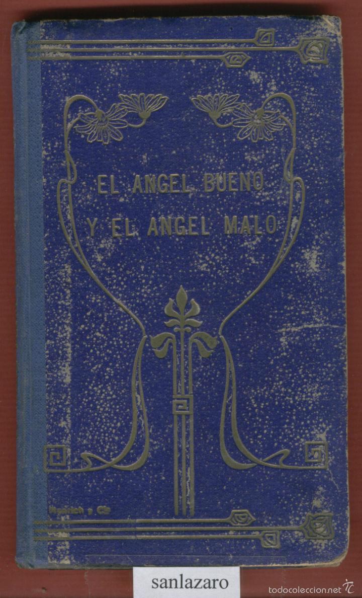 EL ANGEL BUENO Y EL ANGEL MALO NOVELAS CORTAS POR PEDRO UMBERT 77 PAGINAS AÑO 1909 LL1288 (Libros Antiguos, Raros y Curiosos - Literatura Infantil y Juvenil - Otros)
