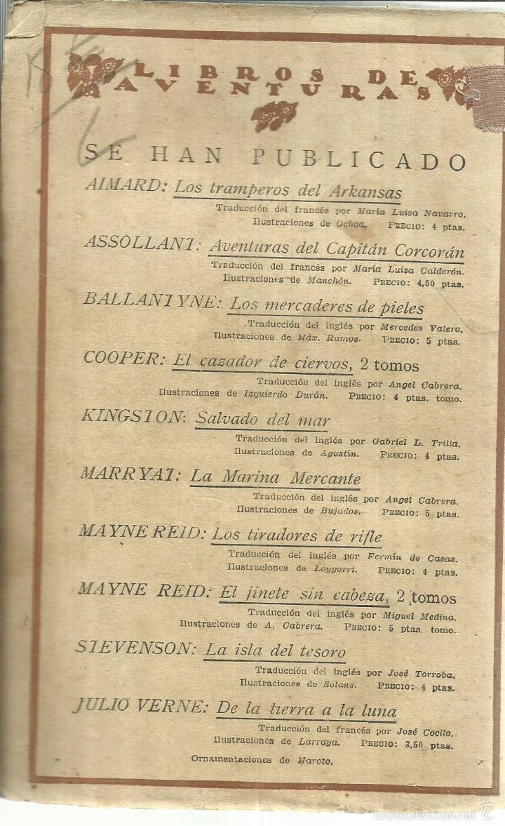 Libros antiguos: NEWTON FORSTER O LA MARINA MERCANTE. MARRYAT. EDICIONES CALPE. MADRID. 1921 - Foto 2 - 56251435