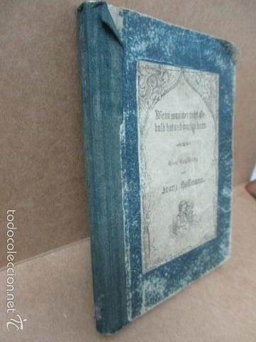 Libros antiguos: Wenn Man Nur Recht Gebult Hat! Franz Hoffman - 1865 - con ilustraciones B/N de caza (ver fotos) - Foto 3 - 56327051