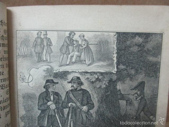 Libros antiguos: Wenn Man Nur Recht Gebult Hat! Franz Hoffman - 1865 - con ilustraciones B/N de caza (ver fotos) - Foto 10 - 56327051