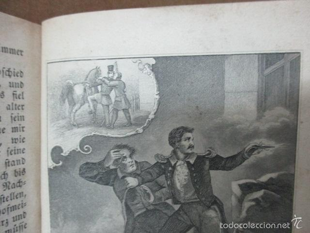 Libros antiguos: Wenn Man Nur Recht Gebult Hat! Franz Hoffman - 1865 - con ilustraciones B/N de caza (ver fotos) - Foto 16 - 56327051