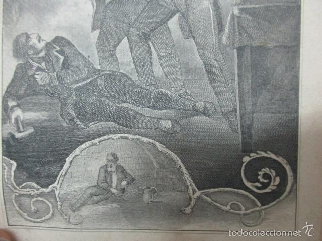 Libros antiguos: Wenn Man Nur Recht Gebult Hat! Franz Hoffman - 1865 - con ilustraciones B/N de caza (ver fotos) - Foto 17 - 56327051