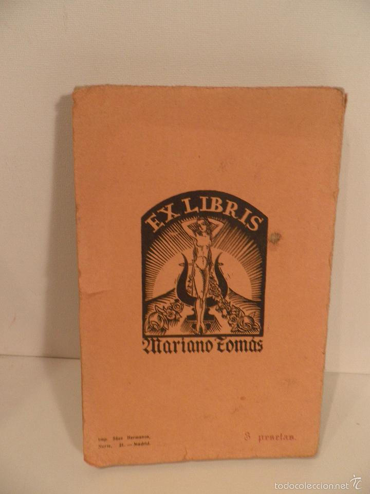 Libros antiguos: La florista de Tiberiades - Tomás, Mariano, 1926 - Foto 2 - 56335031