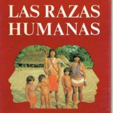 Libros antiguos: LAS RAZAS HUMANAS. - VV.AA.. Lote 56354887