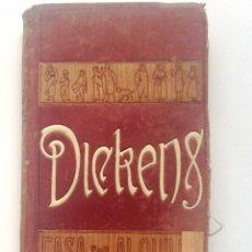 Libros antiguos: CASA POR ALQUILAR. 1910 CALOS DICKENS. TRADUCCION MANUEL MONTOLIU. Lote 56402588