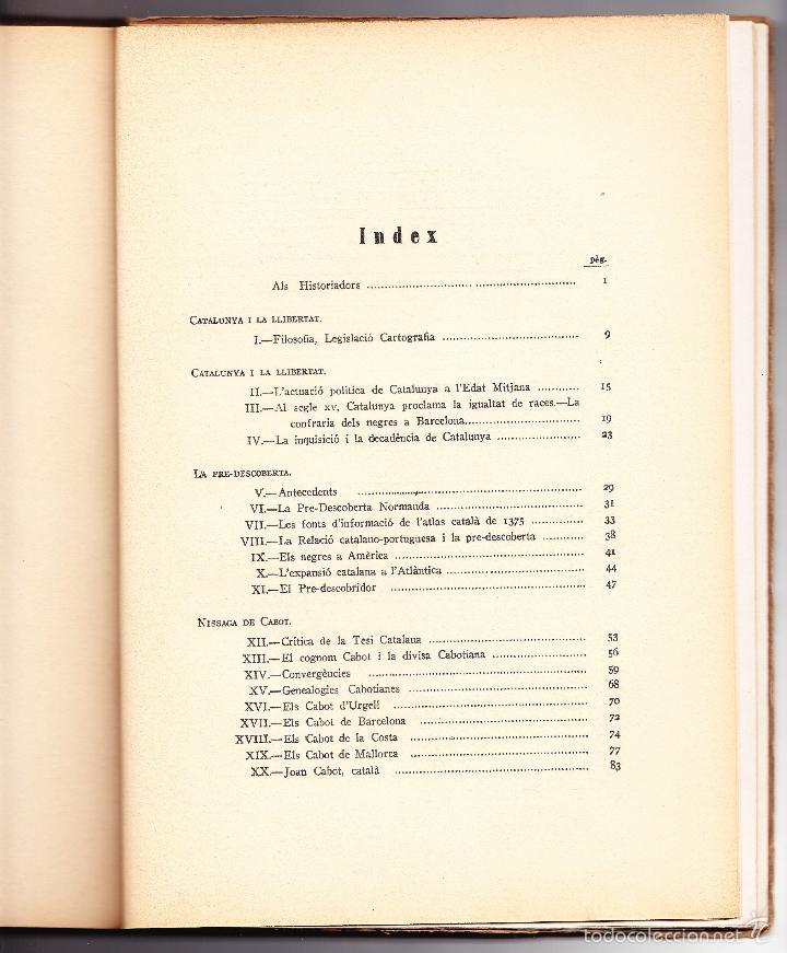 Libros antiguos: CATALUNYA DESCOBRIDORA DAMERICA 1929 R CARRERAS VALLS - Foto 2 - 56473875