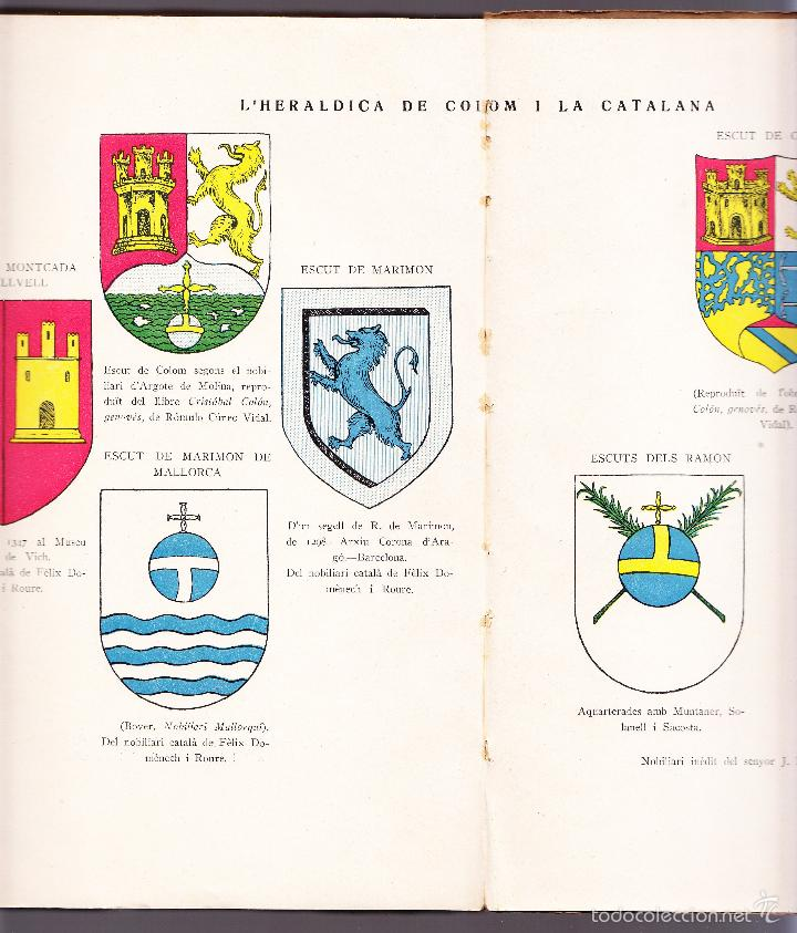 Libros antiguos: CATALUNYA DESCOBRIDORA DAMERICA 1929 R CARRERAS VALLS - Foto 7 - 56473875