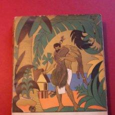 Libros antiguos: CAÍN. AVENTURA EN LOS MARES EXÓTICOS. LEON POIRIER. ED. DÉDALO, 1931.. Lote 56497600