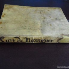Libros antiguos: 1628 L´ART DE NAVIGUER PEDRO DE MEDINA. Lote 56544444