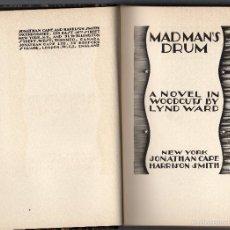 Libros antiguos: MAD MAN´S DRUM DE TYM WARD.. Lote 56546097