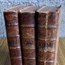 Libros antiguos: 3 LIBROS - CAUSES CELEBRES ET INTERSSANTES - AVEC LES JUGEMENS 1747-49-50. Lote 56577695