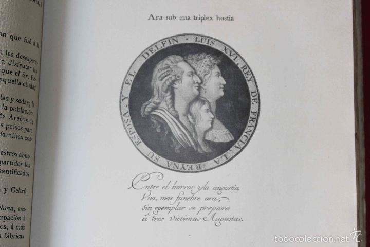 Libros antiguos: Historia del pensamiento político catalán durante 1793-1795. Ángel Ossorio. 1913. Dedicado por autor - Foto 5 - 56590291