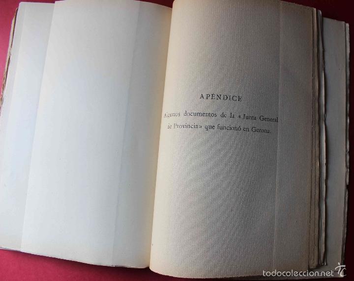 Libros antiguos: Historia del pensamiento político catalán durante 1793-1795. Ángel Ossorio. 1913. Dedicado por autor - Foto 7 - 56590291
