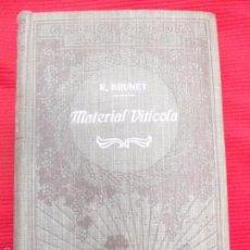 Libros antiguos: MATERIAL VITICOLA-R.BRUNET. Lote 56605166