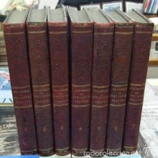Libros antiguos: DICCIONARIO DE AGRICULTURA PRÁCTICA Y ECONOMÍA RURAL. 7 TOMOS. ESTEBAN COLLANTES,A./ALFARO,A.. Lote 56611719
