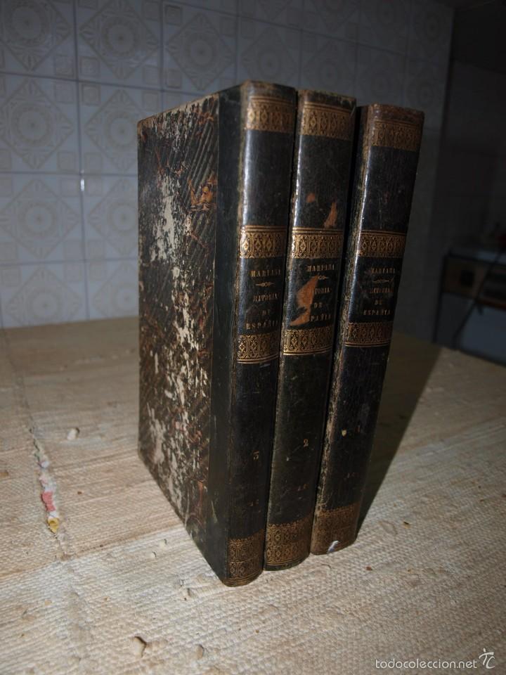 Libros antiguos: Padre Mariana. Historia General de España, Madrid, 1852. - Foto 3 - 56644172