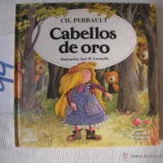 Libros antiguos: CUENTOS CLASICOS - CABELLOS DE ORO - PERRAULT - ENVIO GRATIS A ESPAÑA. Lote 56657626