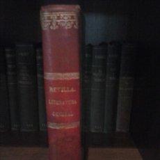 Libros antiguos: PRINCIPIOS DE LITERATURA GENERAL E HISTORIA DE LA LITERATURA ESPAÑOLA. Lote 56698598