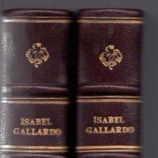 Libros antiguos: ISABEL GALLARDO DE ÁLVAREZ. LA COCINA. 2 VOLS. MADRID, 1922.. Lote 56723535
