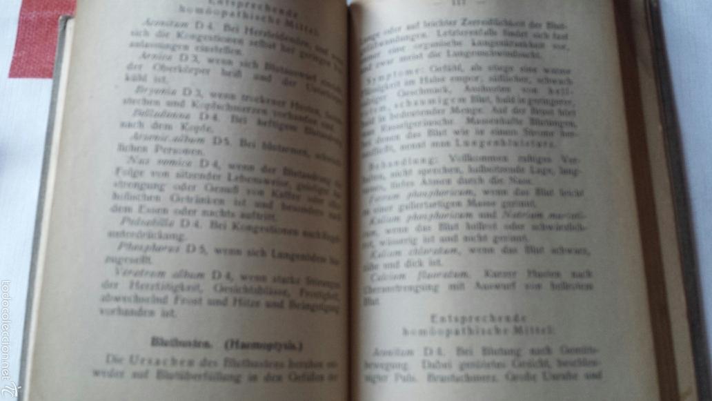 Libros antiguos: En alemán Die Funktionsheilmittel Dr. Schüßlers oder Kleiner biochemischer Hausarzt 1925 - Foto 4 - 56744659