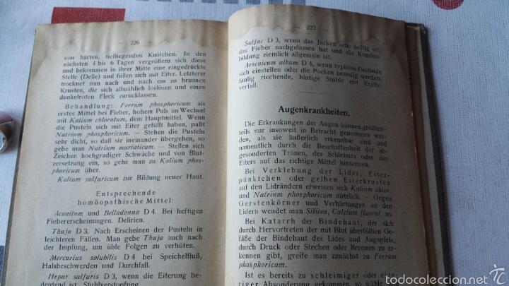 Libros antiguos: En alemán Die Funktionsheilmittel Dr. Schüßlers oder Kleiner biochemischer Hausarzt 1925 - Foto 5 - 56744659