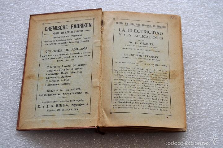 Libros antiguos: MANUAL DEL TINTORERO Y DEL QUITAMANCHAS. ROBERTO LEPETIT. ED. GUSTAVO GILI MCMXIII - Foto 3 - 56752193