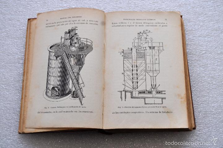 Libros antiguos: MANUAL DEL TINTORERO Y DEL QUITAMANCHAS. ROBERTO LEPETIT. ED. GUSTAVO GILI MCMXIII - Foto 5 - 56752193