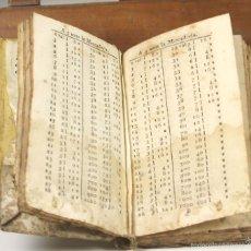 Alte Bücher - LP-247 - LLIBRE FACIL DE COMPTES FETS. FR. BARREME. ESPAÑA. SIGLO XVIII-XIX. - 56812163